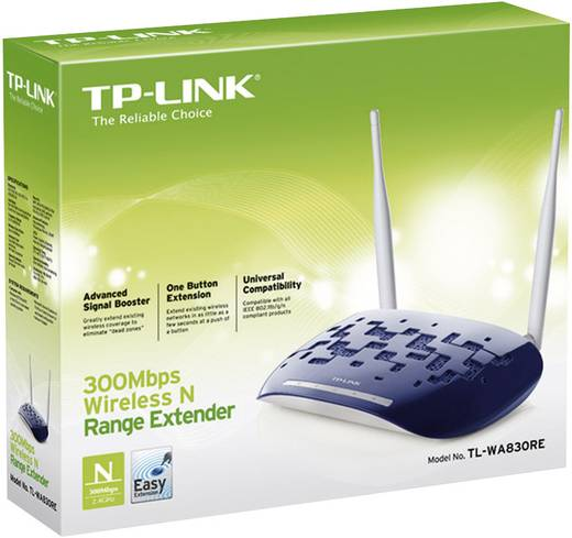 TP-LINK TL-WA830RE WLAN Repeater 300 MBit/s 2.4 GHz