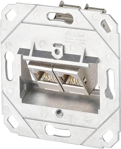 Netzwerkdose Unterputz Einsatz CAT 6a 2 Port Metz Connect