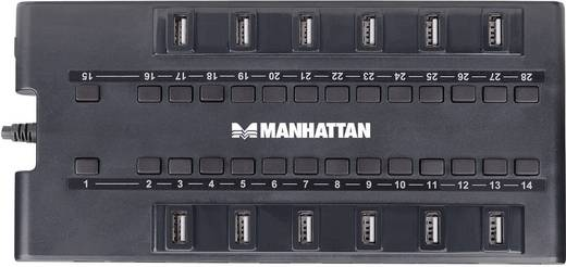 Manhattan MondoHub 28 Port USB 2.0 + USB 3.0