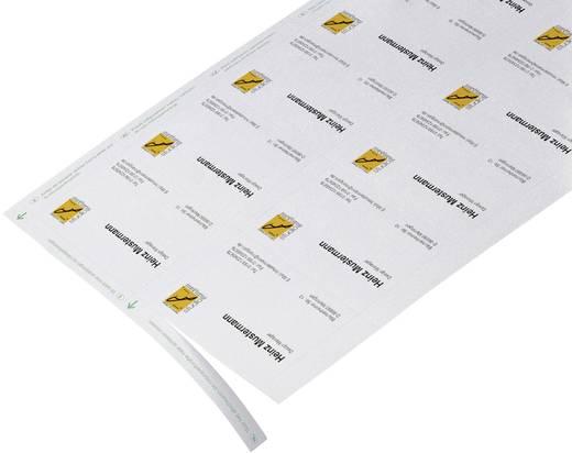 Bedruckbare Visitenkarten, microperforiert Sigel DP839 85 x 55 mm 200 g/m² Hoch-Weiß 150 St.