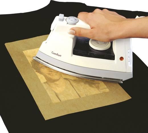 Tintenstrahl Textilfolie Sigel Transfer Folien T-Shirt IP653 DIN A4 für farbige Textilien 6 Blatt