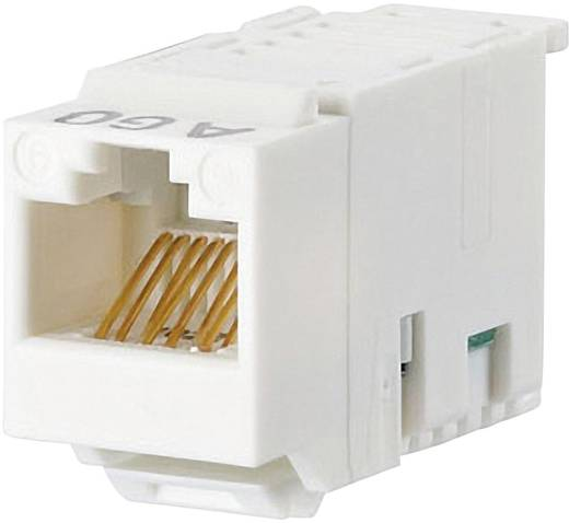RJ45-Einbaumodul Keystone CAT 6 Metz Connect 130A10-I