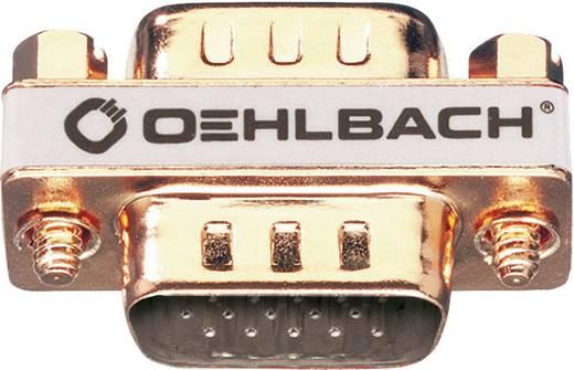 VGA Adapter [1x VGA-Stecker - 1x VGA-Stecker] Gold vergoldete Steckkontakte Oehlbach