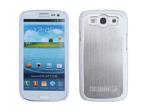 Cool Bananas Hoodie Backcover Passend für: Samsung Galaxy S3, Samsung Galaxy S3 LTE, Samsung Galaxy S3 Neo Weiß, Silber