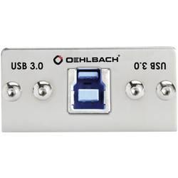 Image of Oehlbach PRO IN MMT-C USB.3 B/A USB 3.0 Multimedia-Einsatz mit Kabelpeitsche