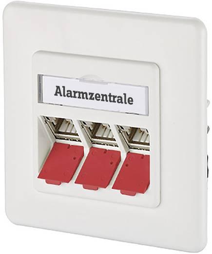 Metz Connect Staubschutzklappe für Modul/Patchfeld/Subway/REG rot