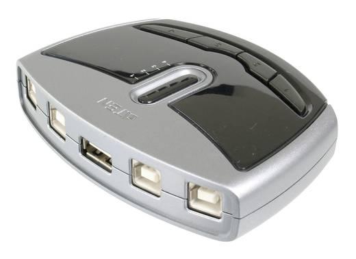 ATEN ASS-US421 4 Port USB 2.0-Umschalter Silber