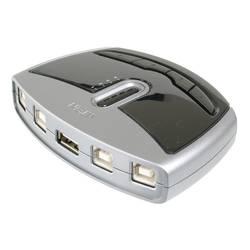 USB 2.0 přepínač ATEN US421A-AT, stříbrná