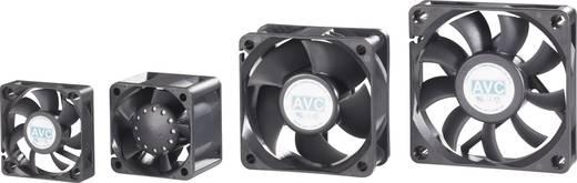 PC-Gehäuse-Lüfter AVC F4010 Schwarz (B x H x T) 40 x 40 x 10 mm