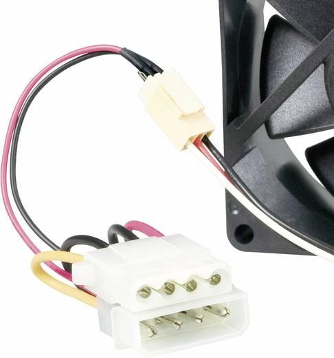 PC-Gehäuse-Lüfter AVC F7015 Schwarz (B x H x T) 70 x 70 x 15 mm