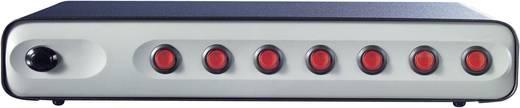 Überspannungsschutz-Steckdosenleiste 7fach Grau, Schwarz Schutzkontakt Boos RC7