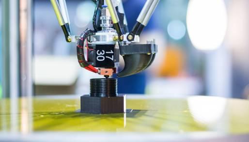 Ausdruck eines 3D-Druckers
