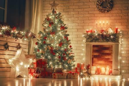 Kerstverlichting binnen