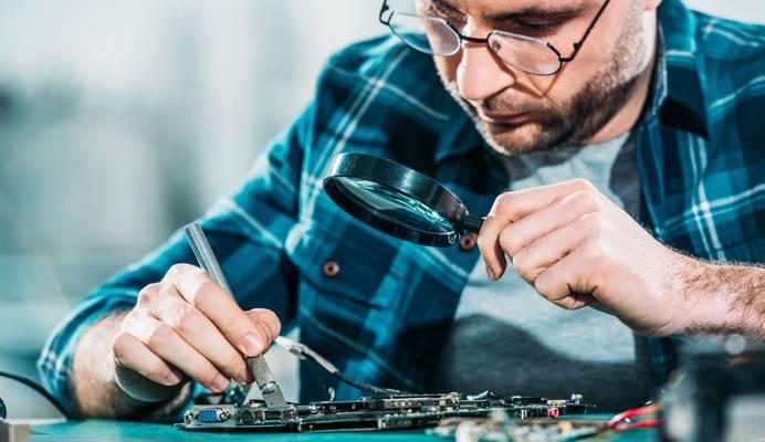 Arbeit mit Sensoren
