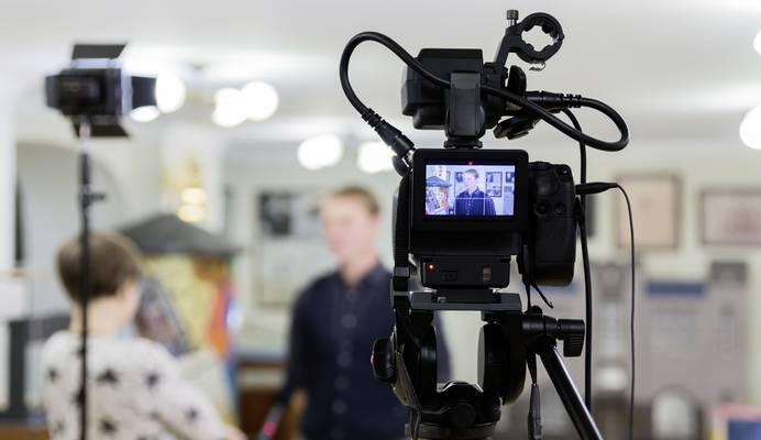Camcorder Aufnahme mit hoher Qualität