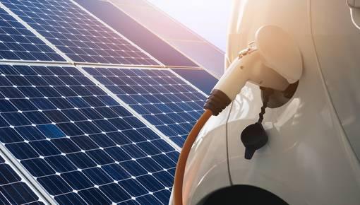 Mit Solarstrom laden