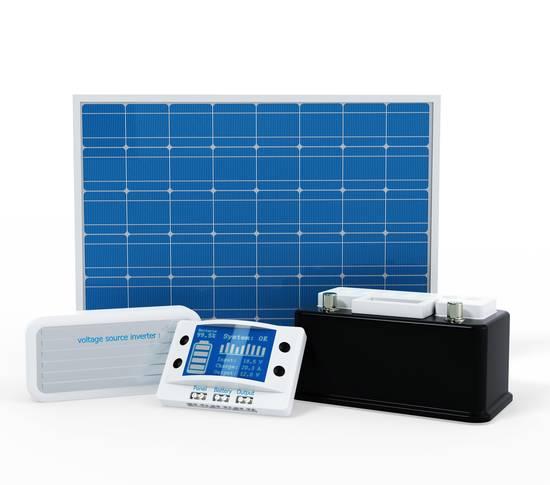 Komponenten der Photovoltaikanlage