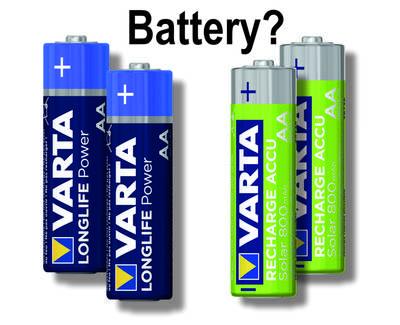Mignon-Batterien und Mignon-Akkus