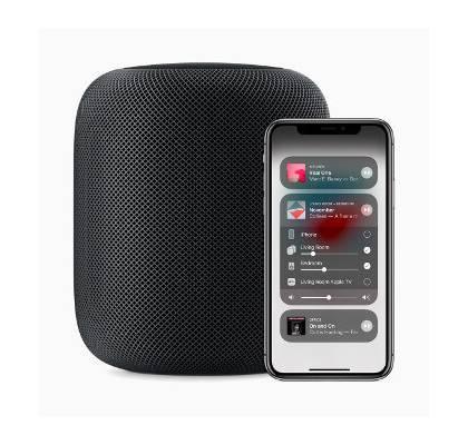 Dank AirPlay2 lässt sich der HomePod als Multiroom-Lautsprecher nutzen
