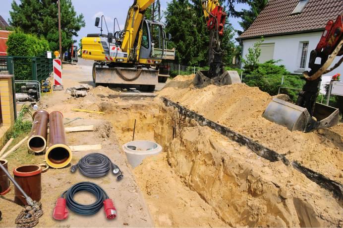 Baustellenkabel müssen besonders robust sein