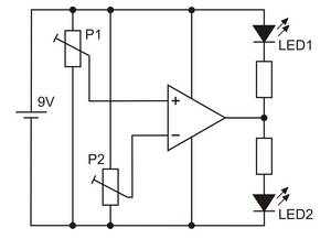 LM358 Schaltungsbeispiel