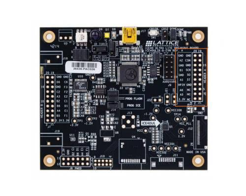 Breakout Board Aufbau mit Pinbelegung