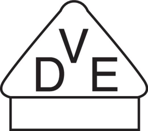 Kaltgeräte-Steckverbinder Buchse, Einbau vertikal Gesamtpolzahl: 2 + PE 10 A Schwarz 1 St.