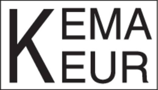 Netz-Anschlusskabel Netz-Buchse - Netz-Stecker Gesamtpolzahl: 3 + PE Schwarz WAGO 771-9993/006-201 1 St.