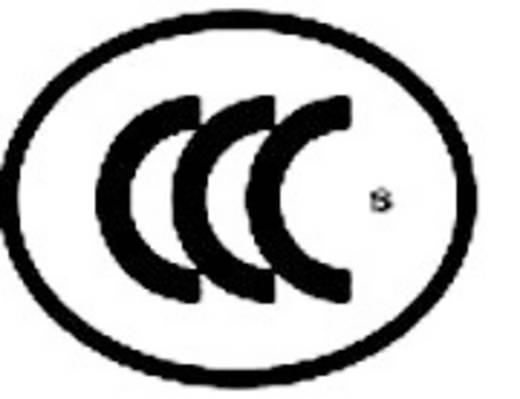 Kaltgeräte-Steckverbinder Buchse, Einbau vertikal Gesamtpolzahl: 2 + PE 16 A Schwarz 1 St.