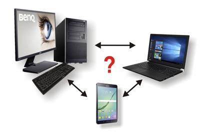 Computer selection