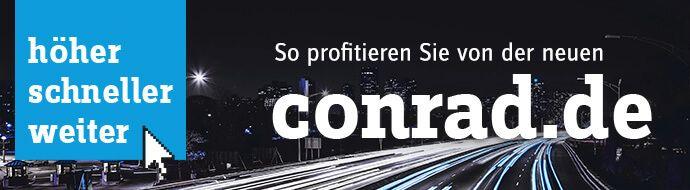 Der neue Conrad Onlineshop