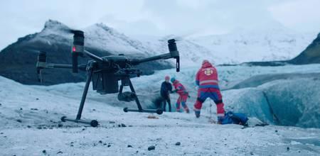 Drohne  für Rettungskräfte