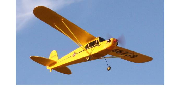 Einsteigerfreundliches Flugmodell