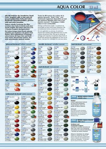 Revell 36137 Aqua-Farbe Ziegel-Rot (matt) Farbcode: 36137 RAL-Farbcode: 3009 Dose 18 ml