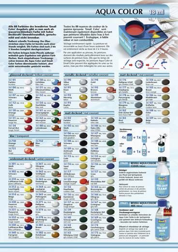 Revell 36150 Aqua-Farbe Licht-Blau (glänzend) Farbcode: 36150 RAL-Farbcode: 5012 Dose 18 ml