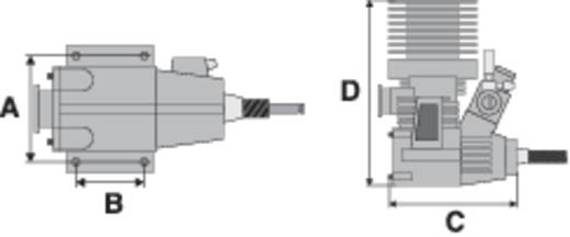 Force Engine 17 CNC Nitro 2-Takt Automodell-Motor 2.76 cm³ 1.7 PS 1.25 kW