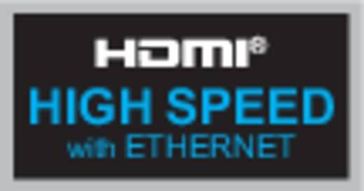 Inakustik HDMI Anschlusskabel [1x HDMI-Stecker - 1x HDMI-Stecker] 0.75 m Silber-Blau