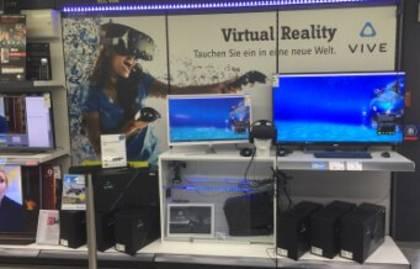 Virtual Reality bei Conrad Electronic live erleben