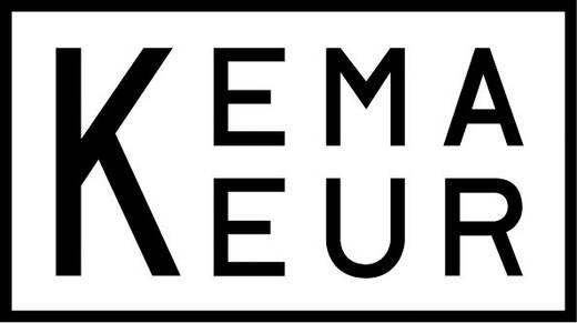 Kaltgeräte Anschlusskabel [ Schutzkontakt-Stecker - Kaltgeräte-Buchse C13] Schwarz 5 m HAWA 1008240