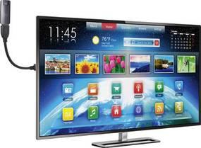 Schwanenhals für HDMI Anschlüsse am Fernseher.