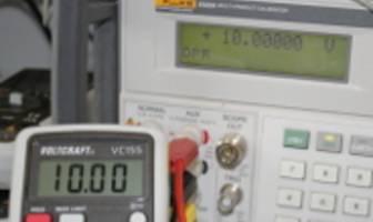 Kalibrierung zur Neueinstellung von Messgeräten