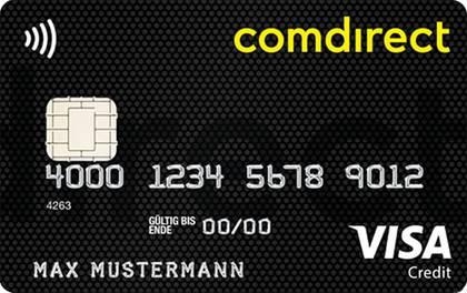 Kreditkarte mit NFC