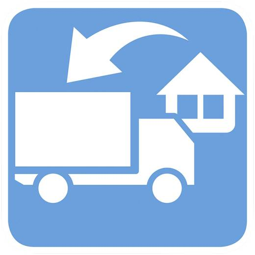 Home Delivery bis 100 kg + Altgerätrücknahme