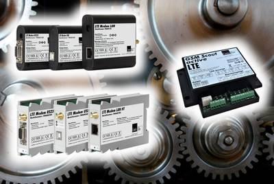 LTE-Modems mit unterschiedlicher Bauform