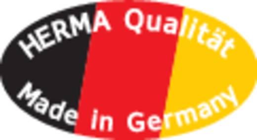 Herma 8964 Etiketten (A4) 210 x 297 mm Folie Transparent 10 St. Permanent Universal-Etiketten Tinte