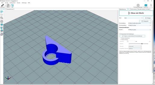 3D-Druckprogramm Repetier-Host