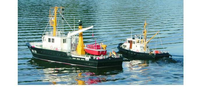 Vorbildgetreue Schiffsmodelle