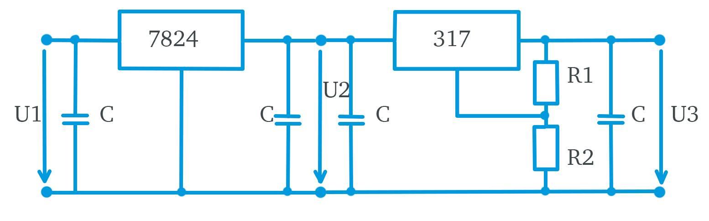 Spannungsregler-Schaltkreis