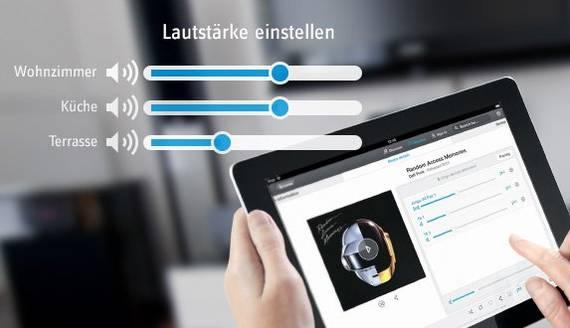 Multiroom - Steuerung per App