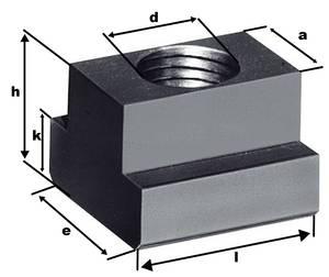 zugehörige Maße des T-Nutensteins